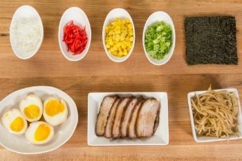 Miso Ramen Ingredients 2
