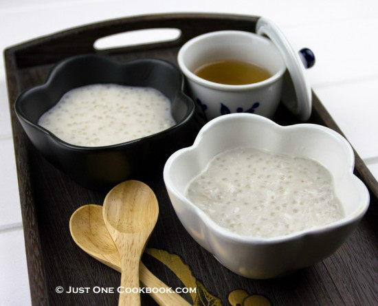 Taro Tapioca Pearl Dessert • Just One Cookbook