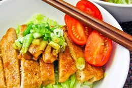 Teriyaki Pork Loin Salad Donburi | Easy Japanese Recipes at JustOneCookbook.com