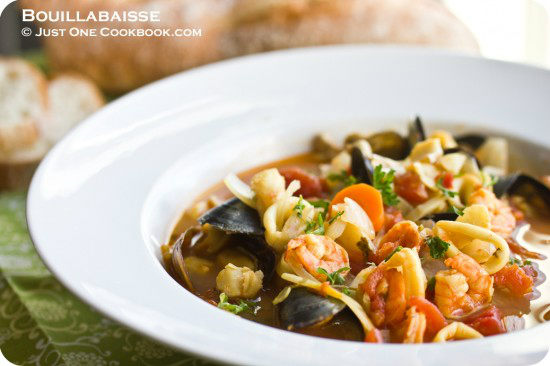 Bouillabaisse recipe french seafood stew just one cookbook for French fish stew