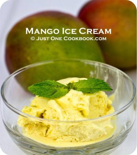 Mango Ice Cream II