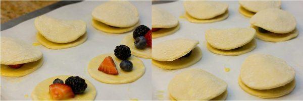 Mini Fruit Puff Pastry with Lemon Glaze 7