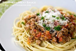 Spaghetti Meat Sauce III