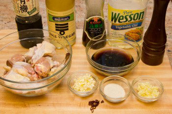 Momofuku Chicken Wings Ingredients