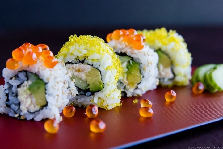 California Roll カリフォルニアロール Just One Cookbook