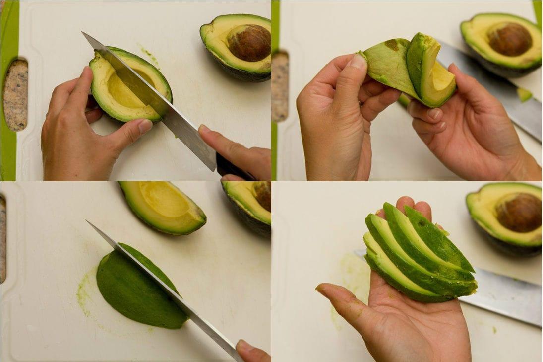 How To Cut Avocado 7-B