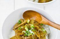 Pork Curry Donburi ポークカレー丼ぶり