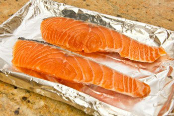 Broiled Salmon 1