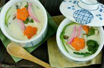 Chawanmushi (Japanese Steamed Egg Custard) 茶碗蒸し