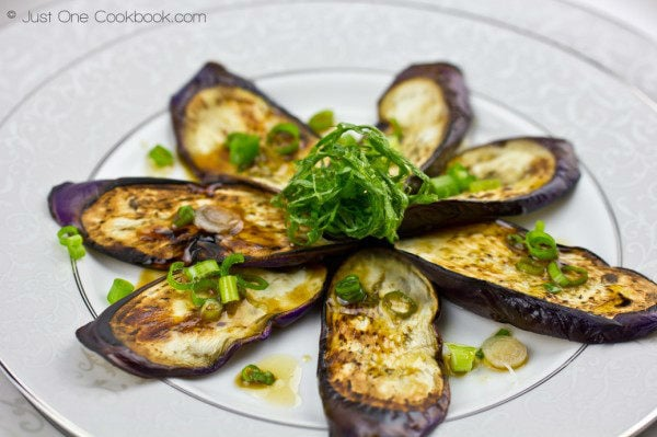 Eggplant with Sesame Ponzu Sauce