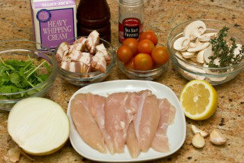 Chicken Scallopini with Lemon Butter Pasta Ingredients