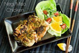 Negi Miso Chicken | Easy Japanese Recipes at JustOneCookbook.com