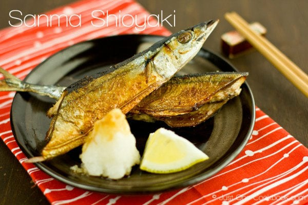 Sanma Shioyaki (Salt-Grilled Pacific Saury) Recipe | JustOneCookbook.com