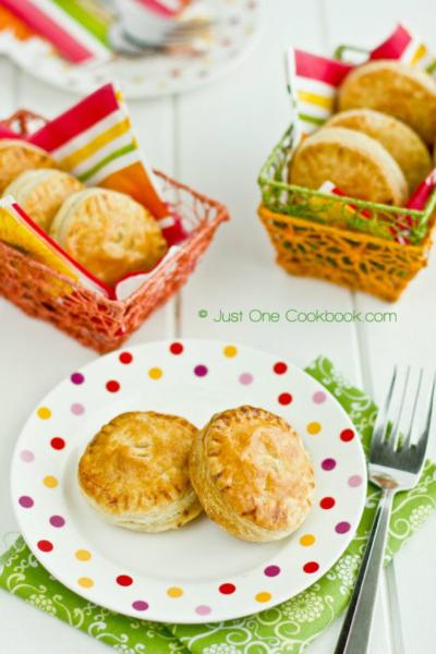 Tandoori Chicken Puffs II