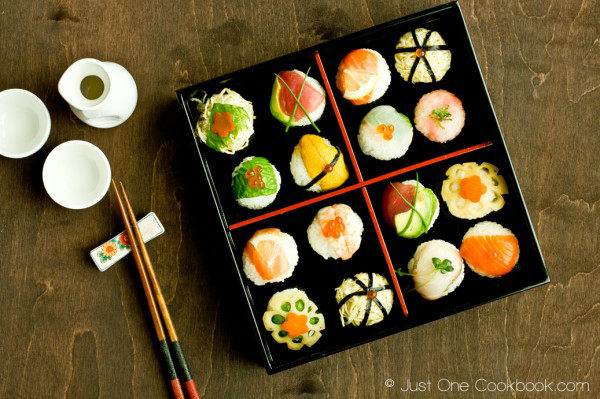 Temari Sushi 手まり寿司 Just One Cookbook