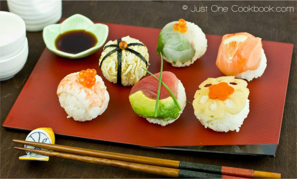 Temari Sushi | Easy Japanese Recipes at JustOneCookbook