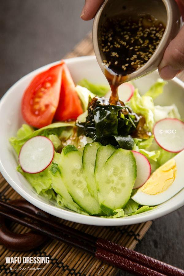 Wafu Dressing | Easy Japanese Recipes at JustOneCookbook.com