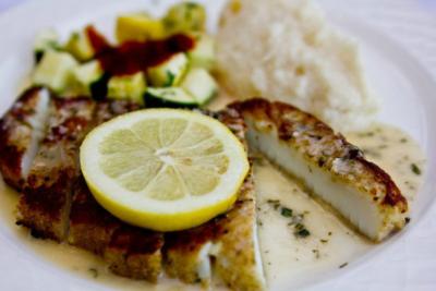 Fandango restaurant review - calamari steak