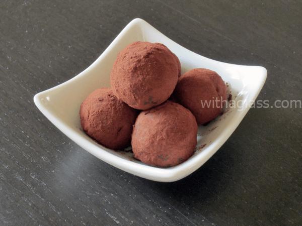 Matcha and White Chocolate Truffles II