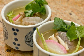 Chawanmushi with Shrimp 5