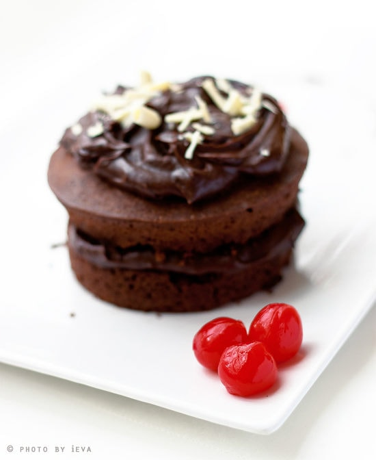Chocolate Cake By Gourmantines Blog III