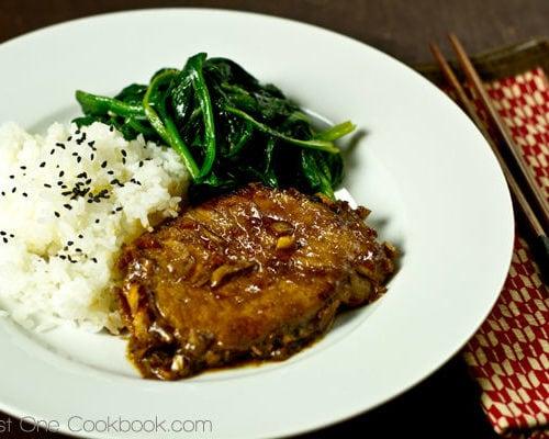 pork loin chop recipes asian Asian Pork Chop with Ginger Soy Sauce