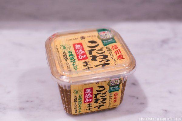 Miso in a package.