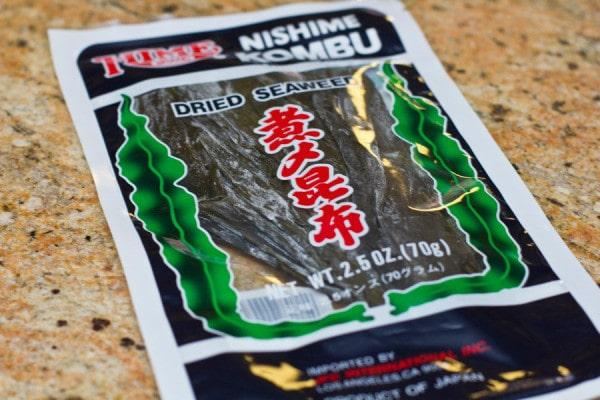 Nishime Kombu