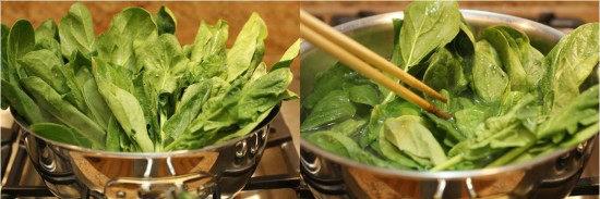 Spinach Ohitashi A