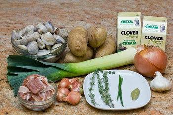 Thomas Keller's Clam Chowder Ingredients