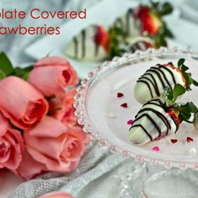 Chocolate Covered Strawberries | JustOneCookbook.com