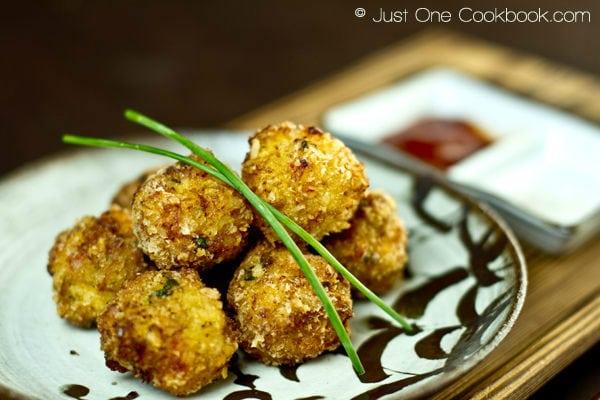 Deep Fried Shrimp Ball | Easy Japanese Recipes at JustOneCookbook.com