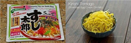 Quick & Easy Chirashi Sushi Ingredients