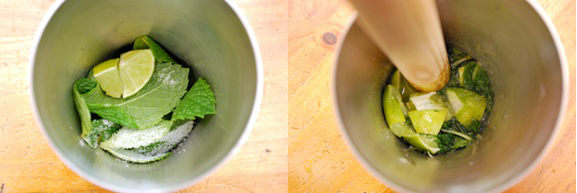 Sake Mojito 1