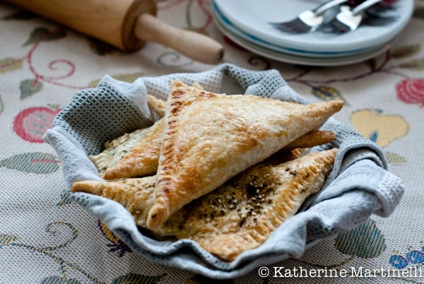 Spinach and Feta Turnovers III