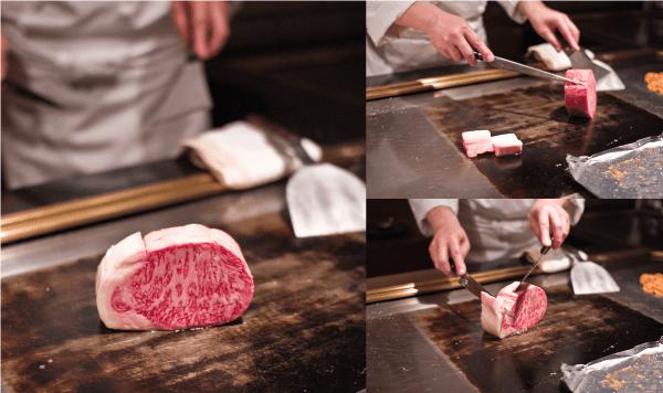 new matsusaka beef teppanyaki 1