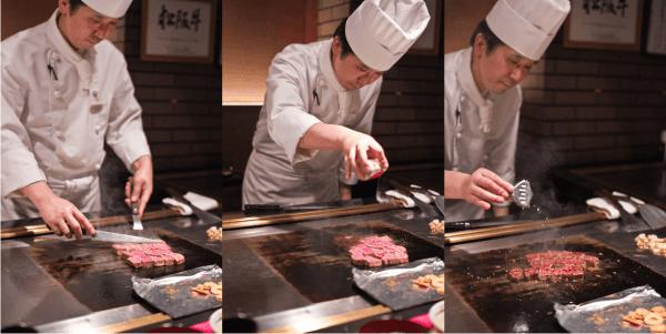 new matsusaka beef teppanyaki 3