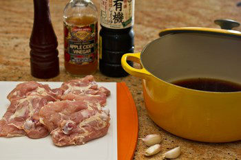 Chicken Adobo Ingredients