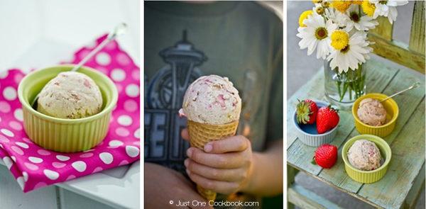 Strawberry Cheesecake Ice Cream Just One Cookbook