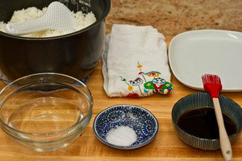 Yaki Onigiri Ingredients