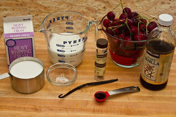 Cherry Ice Cream Ingredients