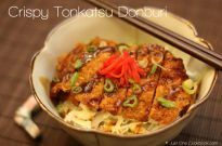 Crispy Tonkatsu Donburi クリスピーとんかつ丼ぶり
