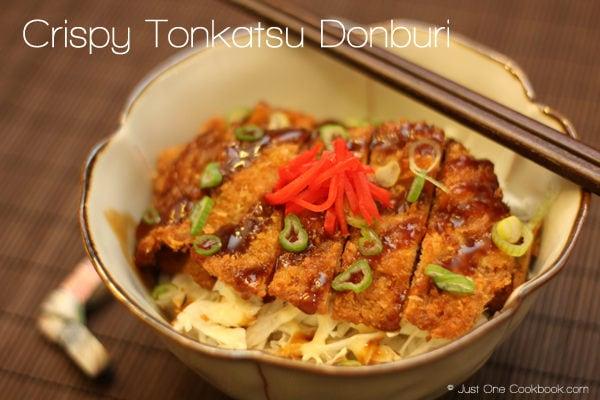 Crispy Tonkatsu Donburi Recipe | JustOneCookbook.com