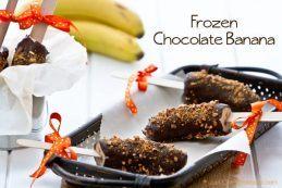 Frozen Chocolate Banana | JustOneCookbook.com