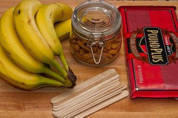 Frozen Chocolate Banana Ingredients