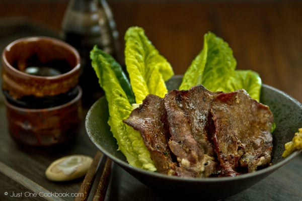 Gyutan Bbq Beef Tongue 牛タン Just One Cookbook