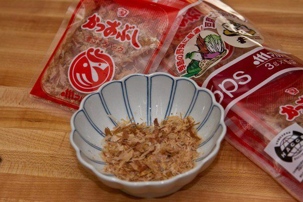 Katsuobushi just one cookbook for Bonito fish flakes