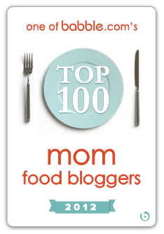 Top 100 Food Blogs Badge