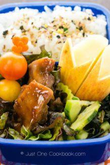 Chicken Teriyaki Bento | Just One Cookbook.com