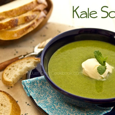 Kale Soup | JustOneCookbook.com